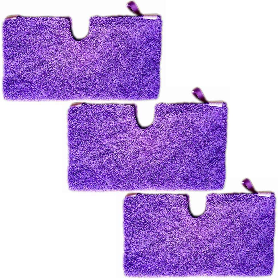Replacement Microfiber Cloth Head Covers 4 Pack Mop Pads Compatible to Fit Shark Steam Pocket Mop Professional Series S3500 S2901 S2902 S3455K S3501 S3550 S3601 S3801 S3901 S4601 S4701 SE450
