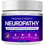 Neuropathy Nerve Therapy & Relief Cream - Maximum Strength Relief Cream for Foot, Hands, Legs, Toes Includes Arnica, Vitamin