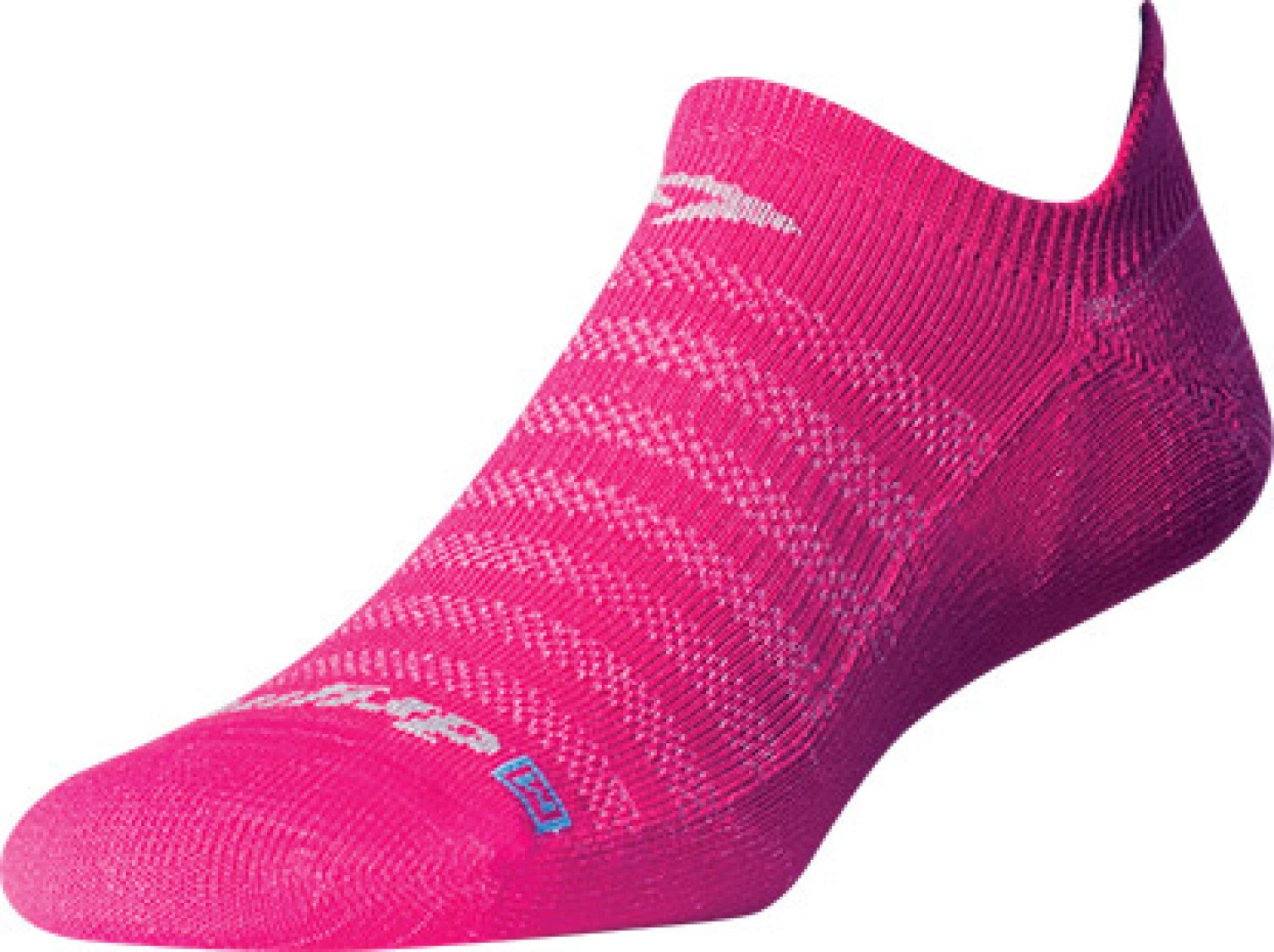 Drymax Running Lite Mesh No Show Tab, October Pink, W5-7 / M3.5-5.5 by Drymax