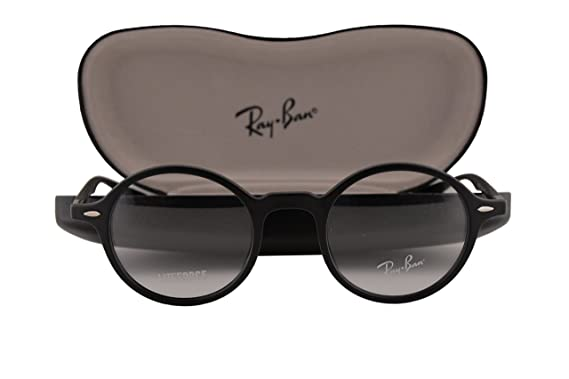 989a6c6381 Ray Ban RX7069 Eyeglasses 43-22-145 Matte Black 5204 RX 7069  Amazon.co.uk   Clothing