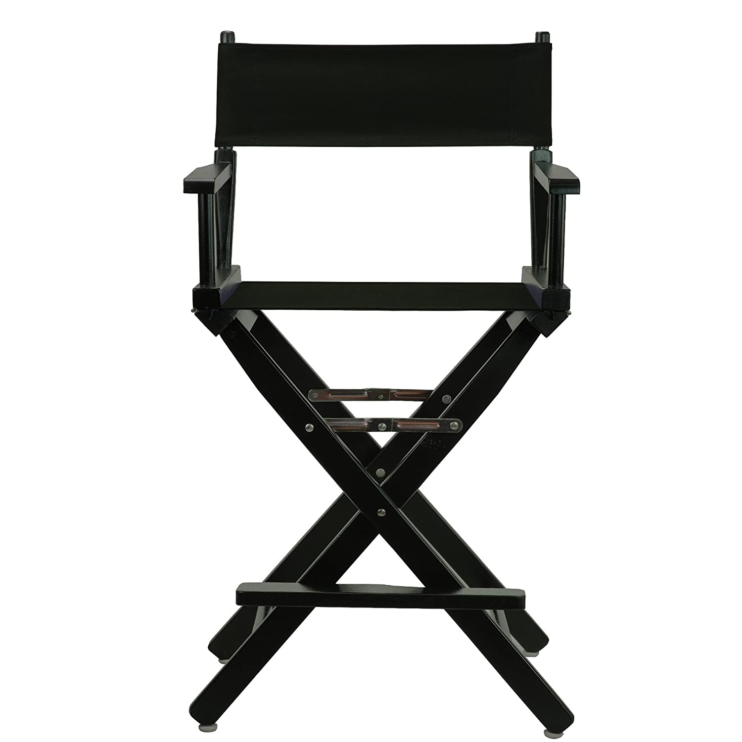 chair canvas frame inch amazon home kitchen director black casual directors ca dp
