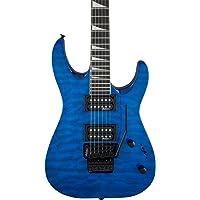 Jackson JS Series JS32Q DKA Dinky Arch Top Transparent Blue エレキギター