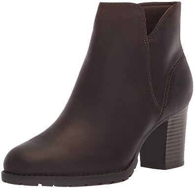 CLARKS Womens Verona Trish Fashion Boot, Taupe Leather 050 ...
