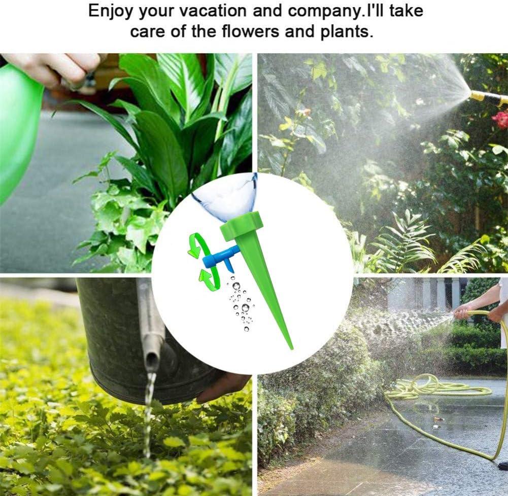 4x auto arrosage des plantes Aqua Globes Water Feeder Système intérieur//extérieur plastique