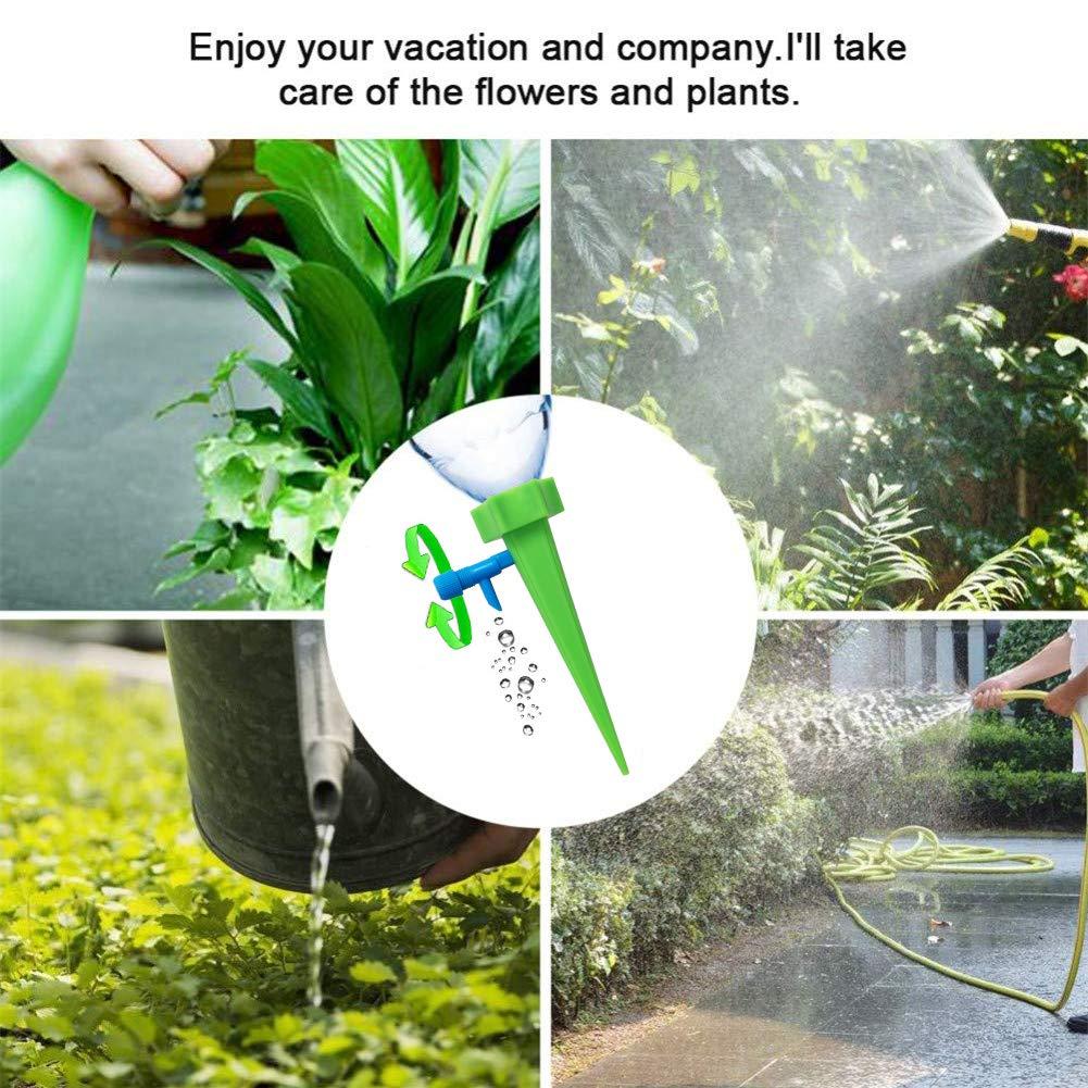 Augoog 18 Piezas de regador de Plantas, con Sistema de riego ...