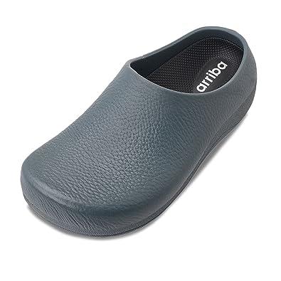 Arriba Men Women Unisex Non Slip Hospital Restaurant Heavy Duty Slip On Work Shoe