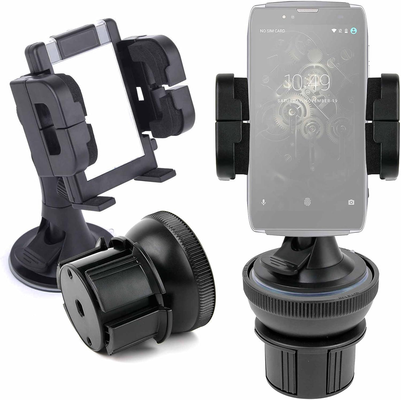 DURAGADGET Soporte De Coche para Smartphone Landvo S7 / Leagoo M8 ...