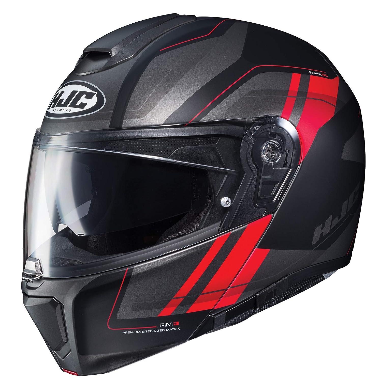 HJC Tanisk Mens RPHA 90 Modular Street Motorcycle Helmet MC-6HSF Large 0808-1036-06