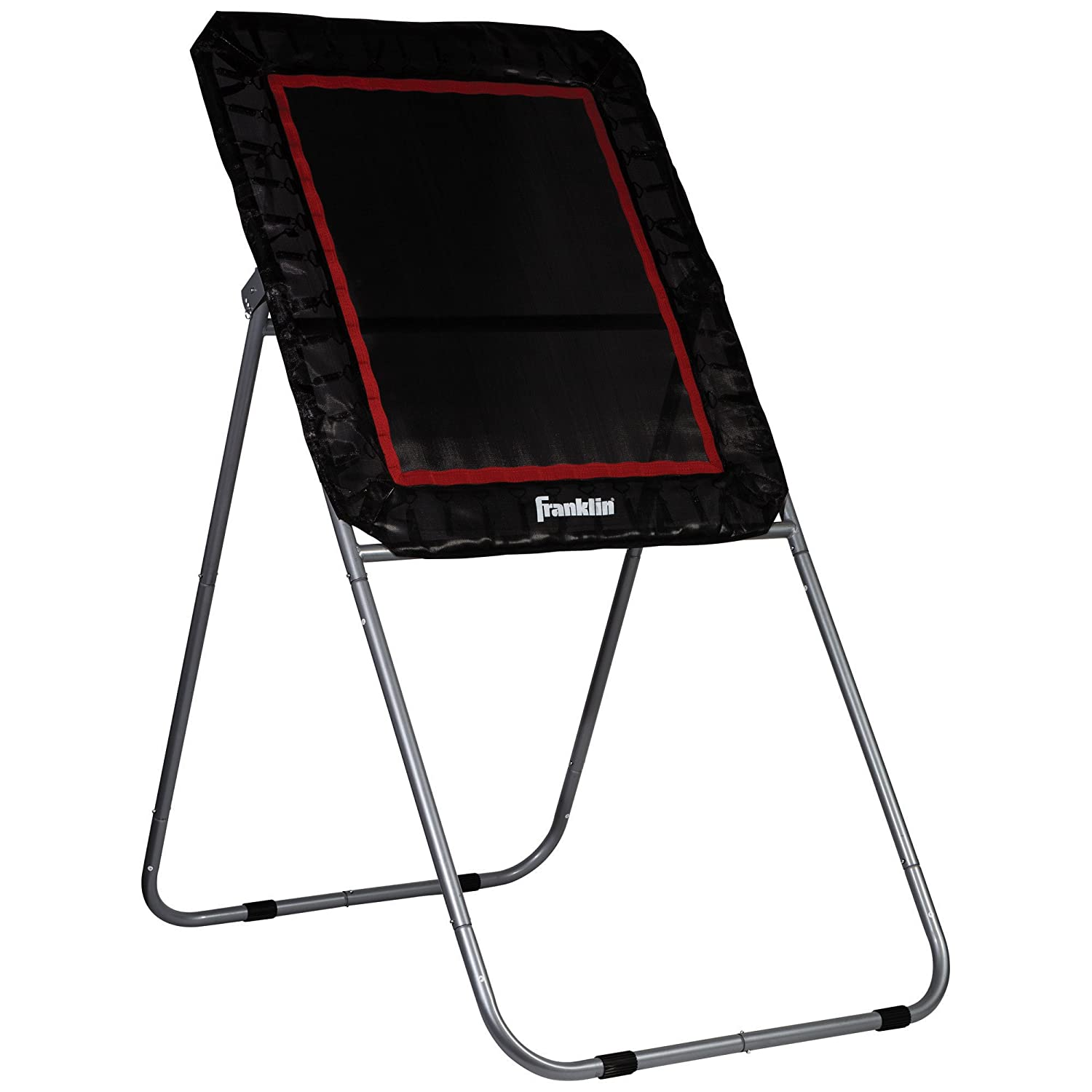 Franklin Sports Lacrosse Rebounder - Lacrosse Bounce Back Rebound Target - Easy to Store and Portable - Perfect for Practice - 4' x 3' Rebound Target