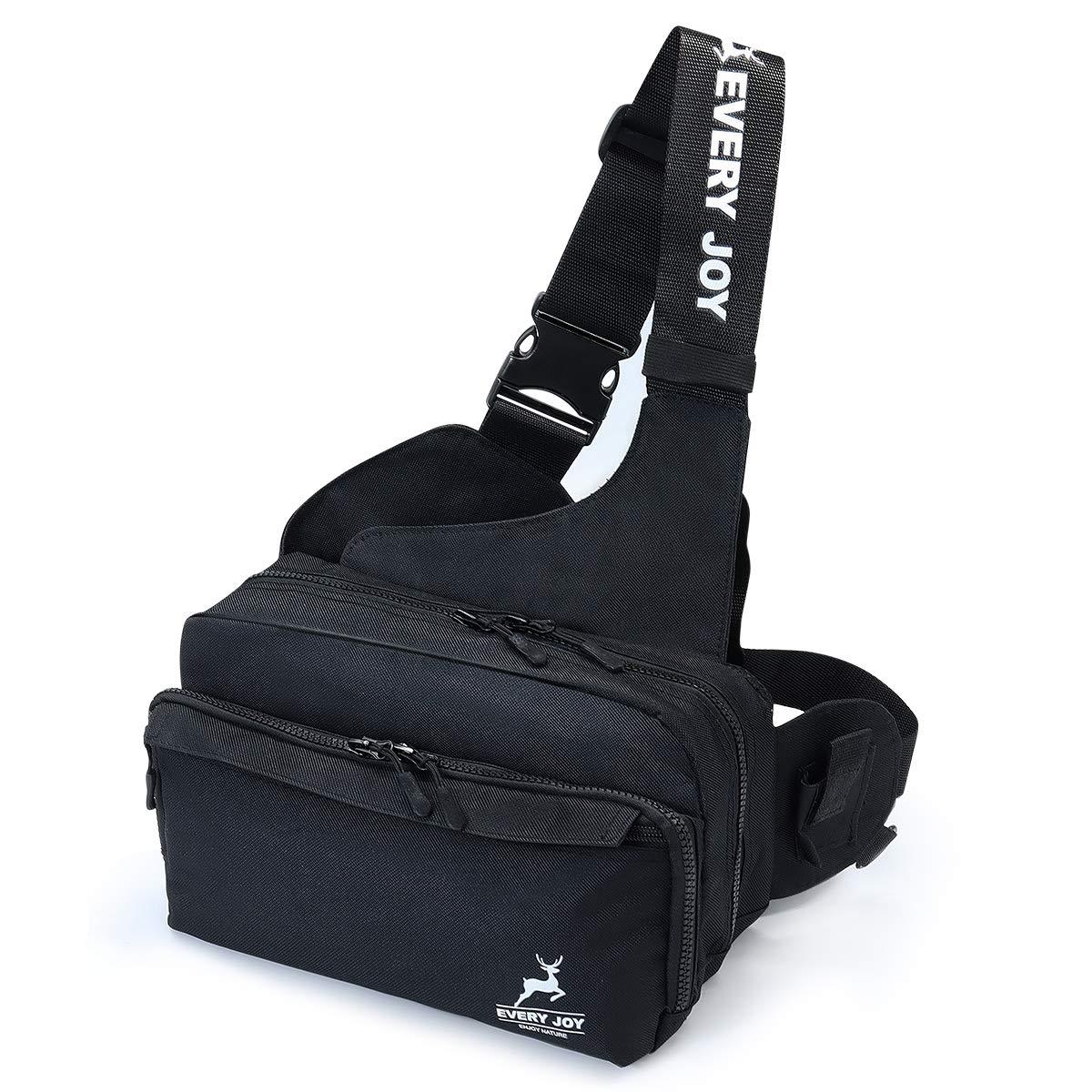 EveryJoy Fishing Tackle Storage Bag Large Capacity Multifunctional Backpack Lure Fishing Shoulder Bag