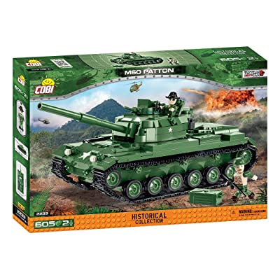 COBI Historical Collection M60 Patton, Multicolor: Toys & Games