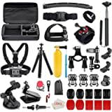 50-in-1 Outdoor Sports Camera Accessories Kit for GoPro Hero 8 7 6 5 4 Fusion AKASO EK7000 APEMAN Campark Accessory…