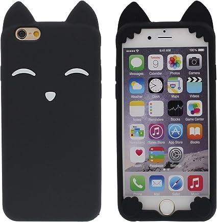 iPhone 6 Plus 6S Plus Coque de Protection Souple Silicone Gel ...