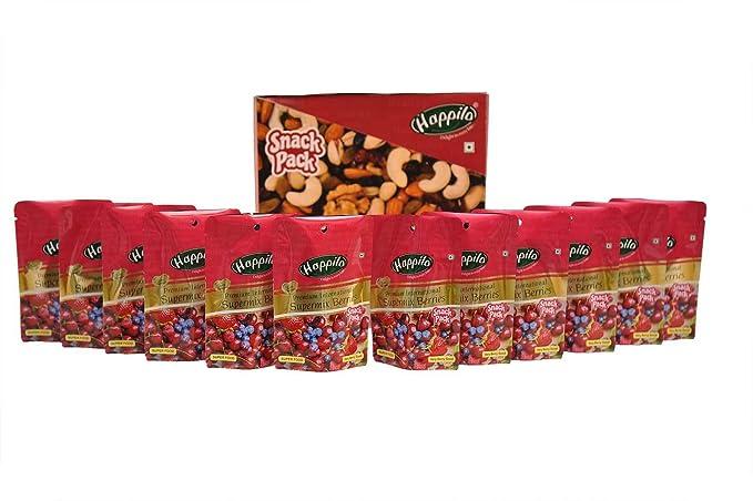 Happilo�Premium International Super Mix Berries, 35g (Pack of 12)