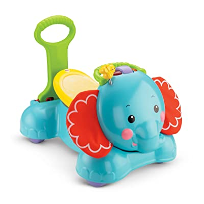 Fisher-Price 3-in-1 Bounce, Stride and Ride Elephant: Toys & Games
