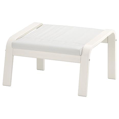 Zigzag Trading Ltd IKEA POÄNG - Reposapiés Blanco Blanco ...