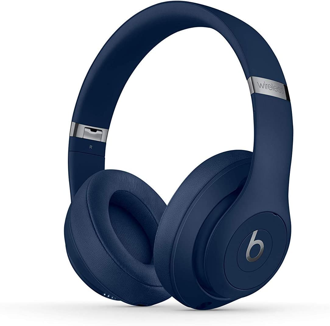 Beats Studio3 Wireless Headphones - Blue - (Renewed)