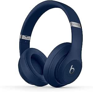 Beats Studio3 Wireless Headphones - Blue - (Renewed)