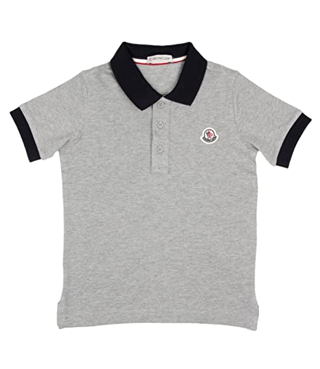 Moncler Junior Polo Bambino Kids Boy Mod. 8307850: Amazon.es: Ropa ...