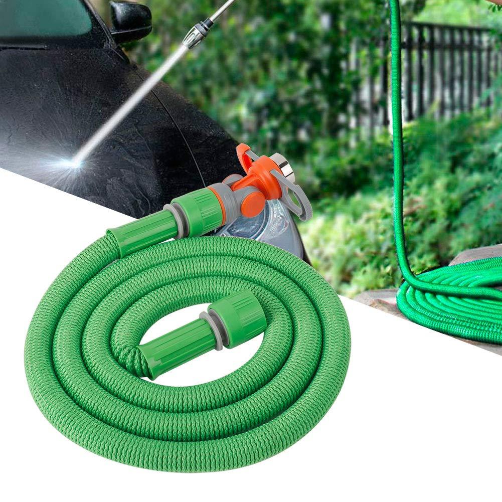 Jeffergarden 1.5m Manguera de jard/ín Manguera de Agua Flexible Extensible con conexi/ón de Grifo Universal Tubo de riego para Plantas de 4//6//1  para jardiner/ía al Aire Libre