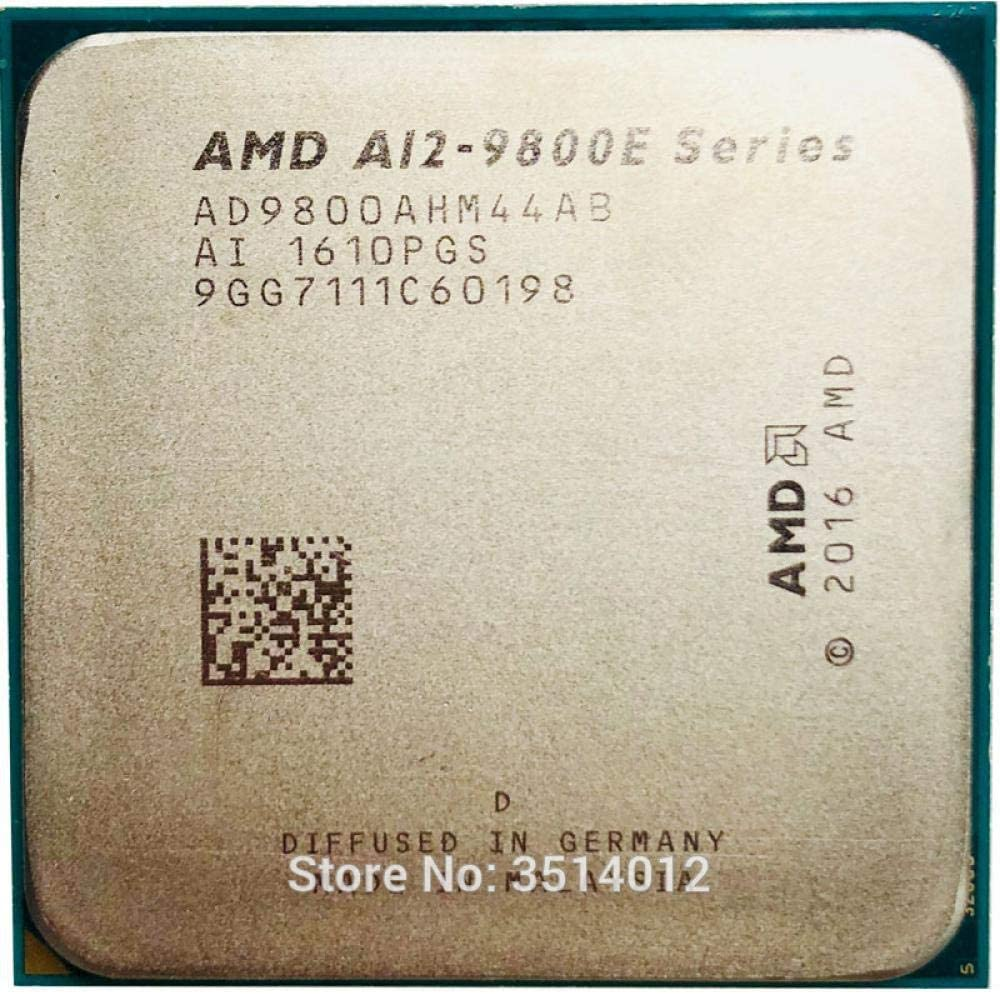 AMD A12-Series A12-9800E A12 9800E A12 9800 E 3.1 GHz Quad-Core CPU Processor AD9800AHM44AB Socket AM4 Satmak A12 9800