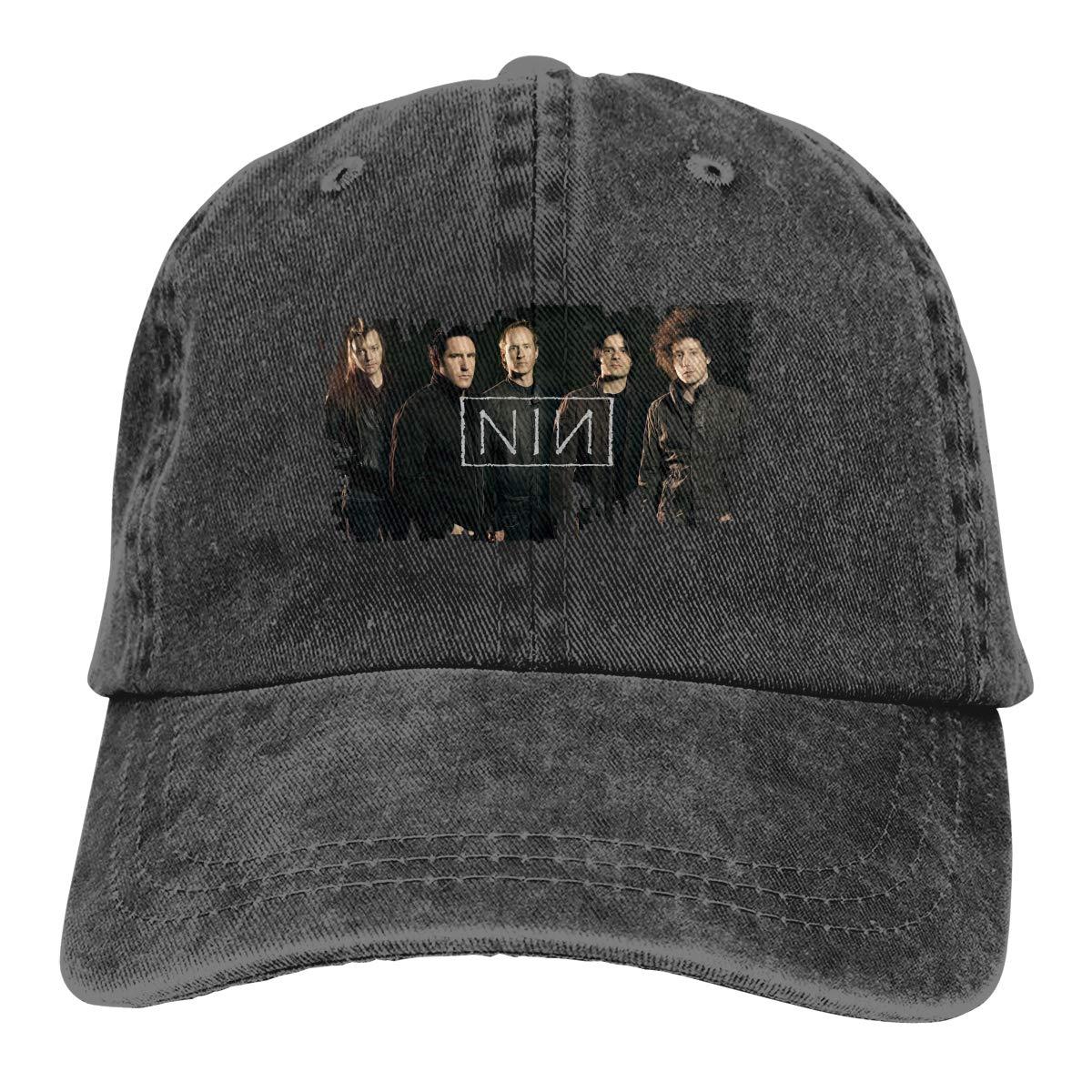 04bcc3424bca Nine Inch Nails Rock Band NIN Unisex Adjustable Baseball Dad Cap Hat ...