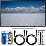 "Sony XBR-65X750D - 65"" Class 4K Ultra HD TV w/ Essential Accessory Bundle includes TV, Screen Cleaning Kit, 6 Outlet Power Strip with Dual USB Ports and 2 HDMI Cables"