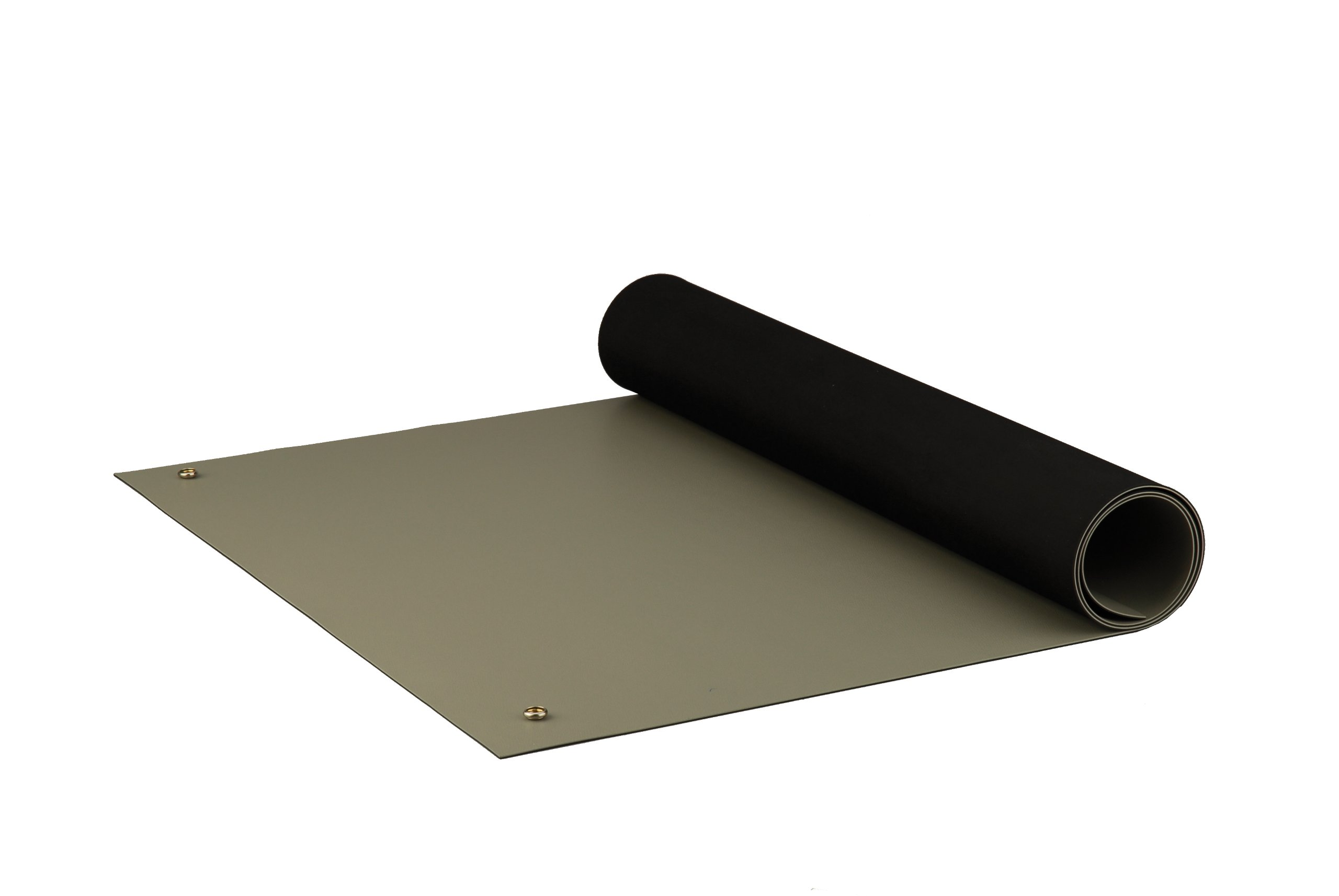 ACL Staticide 8385DGYM3060 Dualmat ESD Table Mat, 60'' Length x 30'' Width, Dark Gray