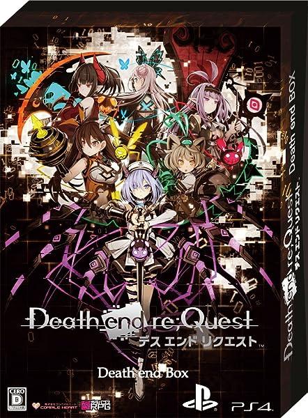 Death end re;Quest Death end BOX 【限定版同梱物】・ナナメダケイ描き下ろし収納BOX ・ビジュアルアートワーク ・オリジナルサウンドトラックCD ・秘蔵データ素材集CD-ROM ・クリアビジュアルポスターセット 同梱 & 【予約特典】RPGツクール制作によるスペシャルPCゲーム『END QUEST』 (CD-ROM) & バッドエンド画集『Death end Note』~祁答院 慎氏解説付き~ 付