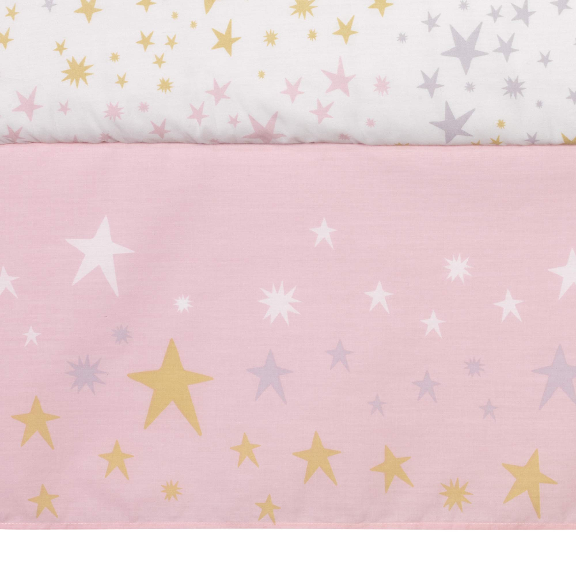 Bedtime Originals Rainbow Unicorn 3-Piece Crib Bedding Set, Purple by Bedtime Originals (Image #5)