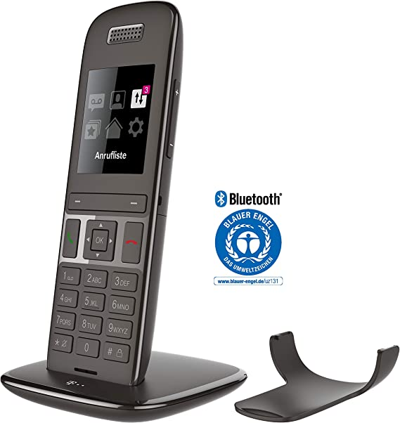 Telekom Speedphone 51 Analog/DECT Telephone Negro Identificador de Llamadas: Amazon.es: Electrónica