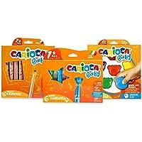 CARIOCA Baby Set | Kleurset voor Kinderen met Beer Viltstiften, Beer Waskrijtjes en Kleurpotloden voor Kinderen vanaf 1…