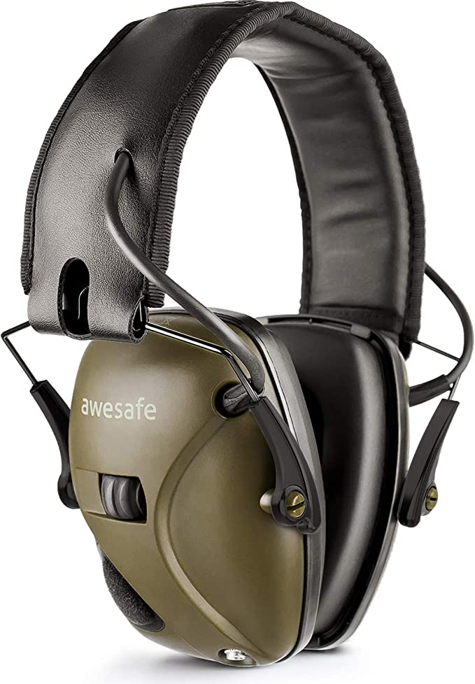 Best Shooting Ear Protection: New Electronic Shooting Earmuff