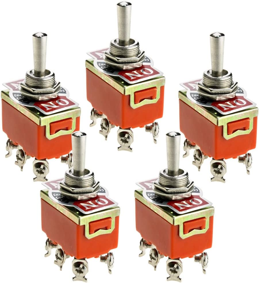 5 Pcs Lever Micro Switch Toggle Switch On Off Switch 12 V Or 24 V Baumarkt