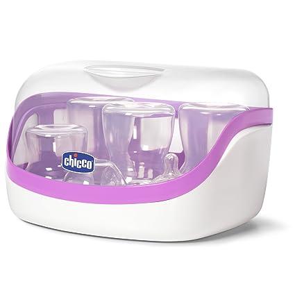 Chicco Esterilizador a vapor para microondas: Amazon.es: Bebé