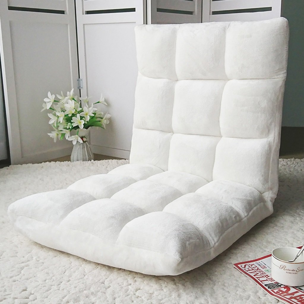 Li Jing Firm Lazy Couch Stylish Single Multifunctional Sofa Tatami Small Bedroom Chair Bed Cute Folding Back Soft And