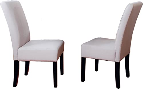 Best Selling Natural T-Stitch Fabric Dining Chair