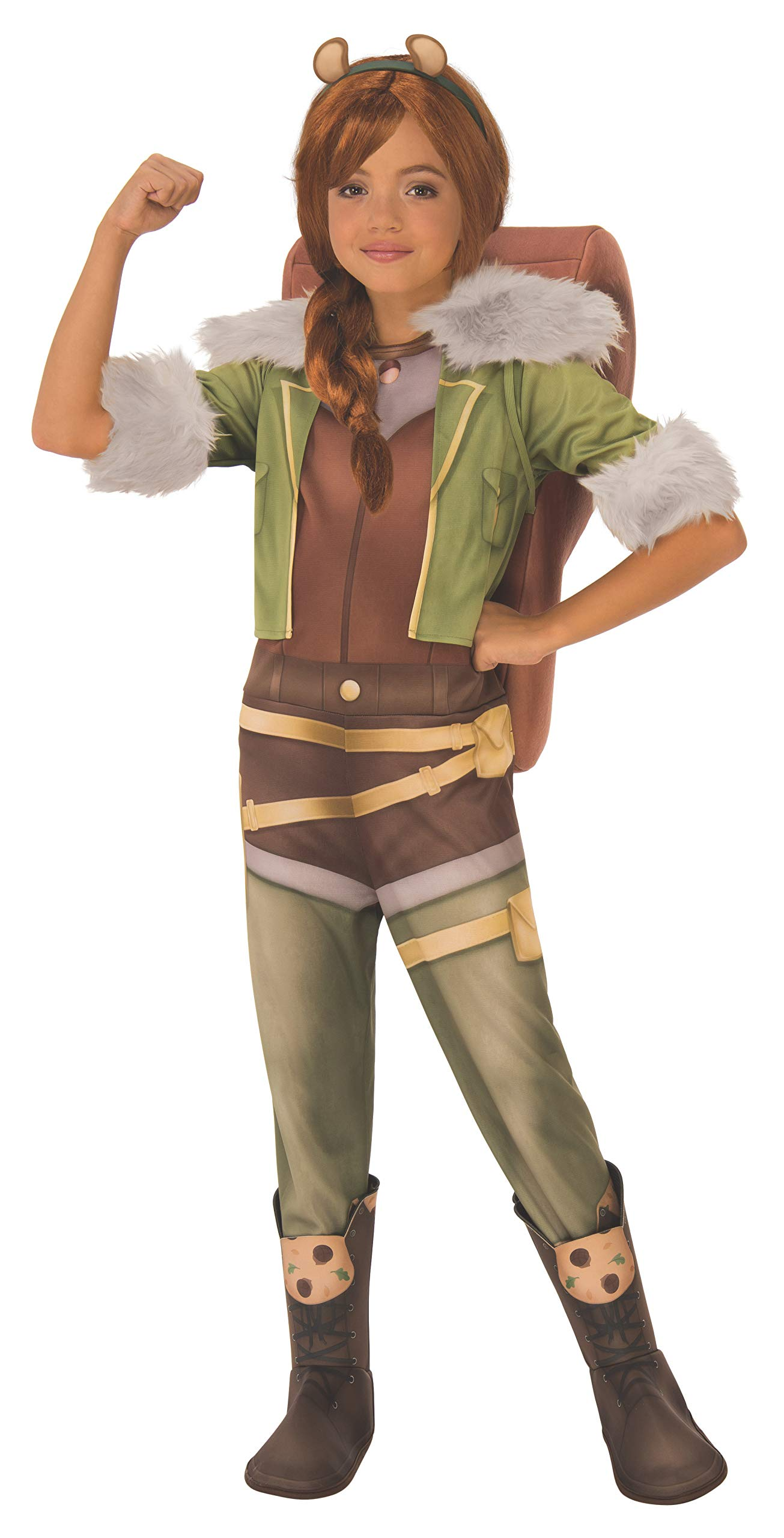 - 71P 2BGuZc7aL - Marvel Rising: Secret Warriors Deluxe Squirrel Girl Costume, Small