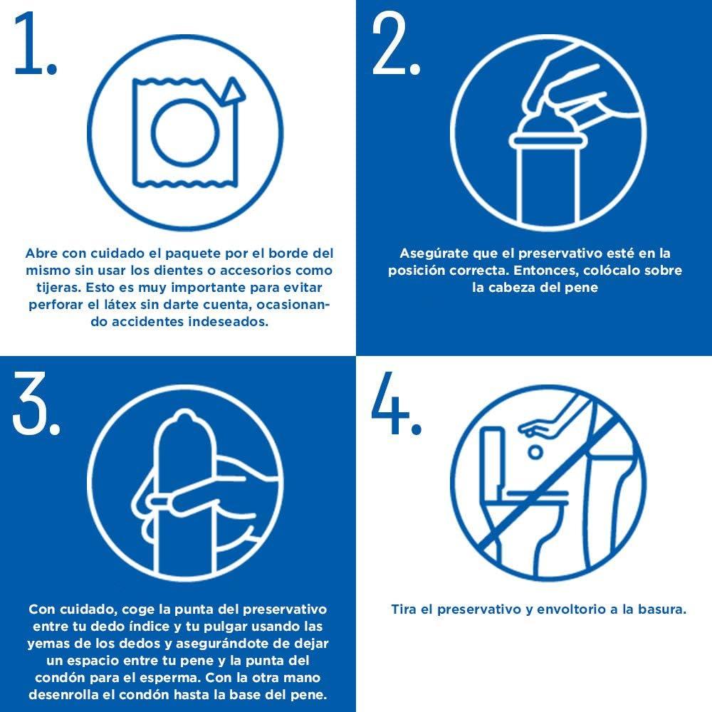 71P%2BH6Ro2QL._AC_SL1000_ Durex Preservativos Super Finos Contacto Total - 12 condones: Salud y cuidado personal
