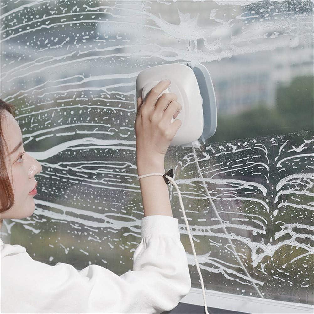 Yuhualiyi123 Limpiacristales, Limpiador de Cristales, de Gran Altura Inicio Artefacto, Doble Capa de Windows escobilla de Goma para Cocina, Espejo, Ducha, baño, (Size : Green): Amazon.es: Hogar