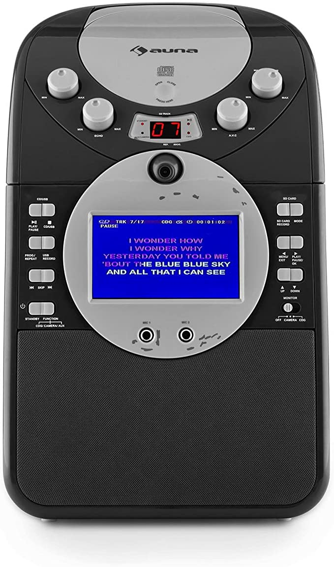 auna ScreenStar Karaoke, Pantalla TFT de 3.5