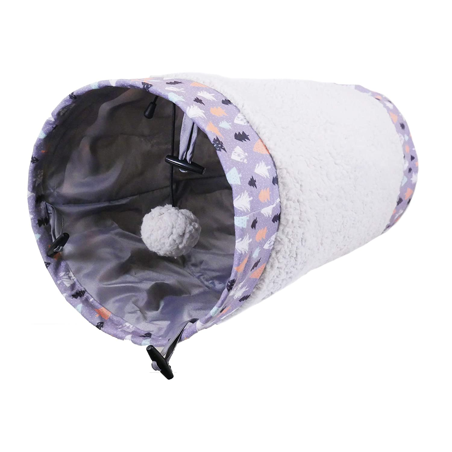 Rosewood Christmas Winter Forest Katze Tunnel 90912