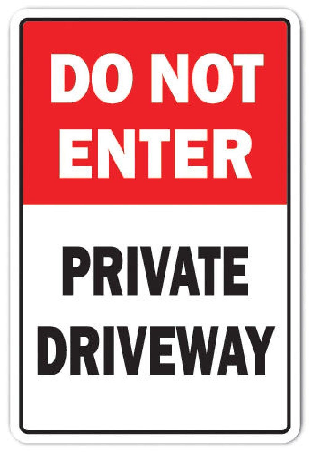 No entrar en el entrada - privado cartel prohibido ...