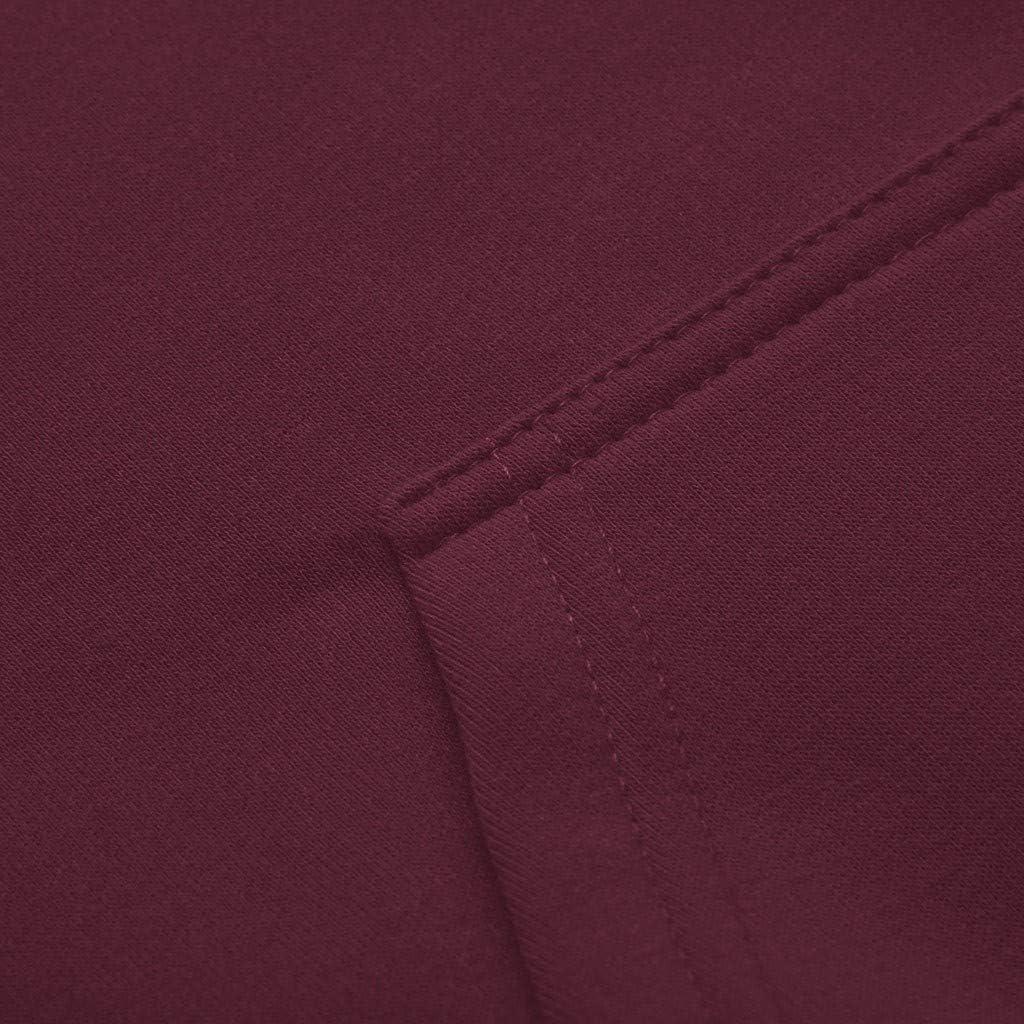 Misaky Autumn Winter Casual Heart Rate Print Long Sleeve Pocket Hooded Pullover Sweatshirt Tops Girls Hoodie