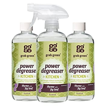 Grab Green 16 Ounce Bottle 3-pack Natural Degreaser Oven Cleaner