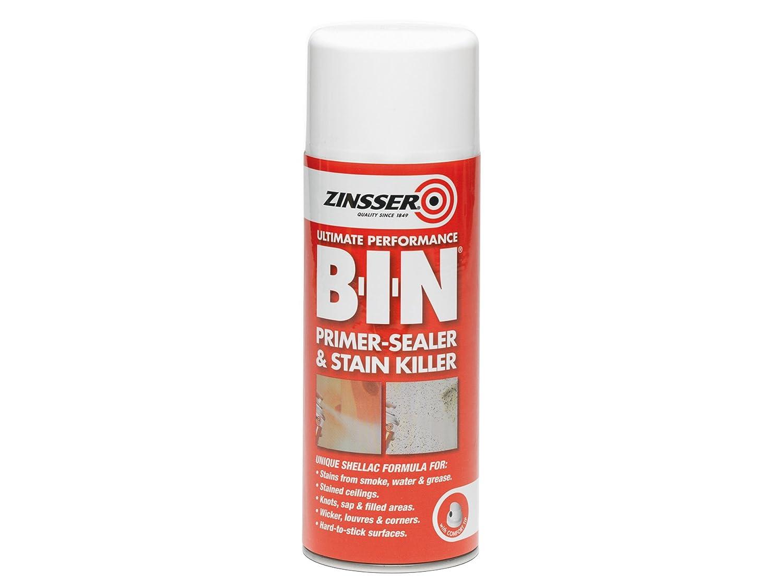 Zinsser-Primer B.I.N ZINBIN25L 2, 5 l/Sealer Stain Killer Paint