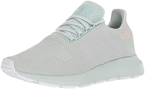 1f5d5ff3194bf adidas Women s Swift Run Originals Vapor Green Grey White Running Shoe 7.5  Women US  Amazon.co.uk  Shoes   Bags