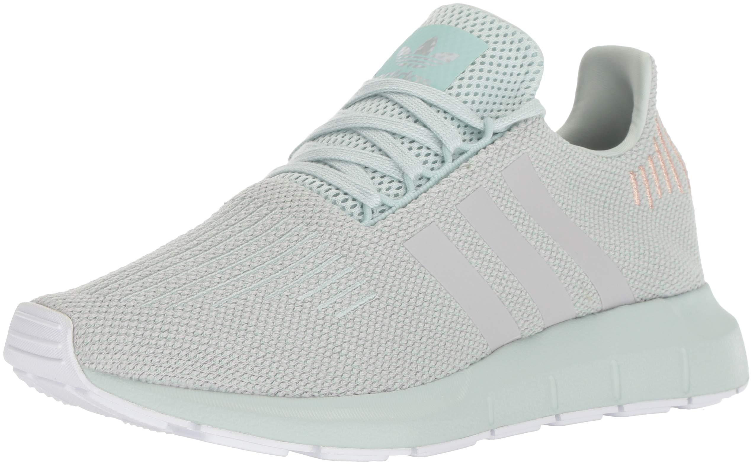 adidas Originals Women's Swift Running Shoe, Vapour Green/Grey/White, 9.5 M US
