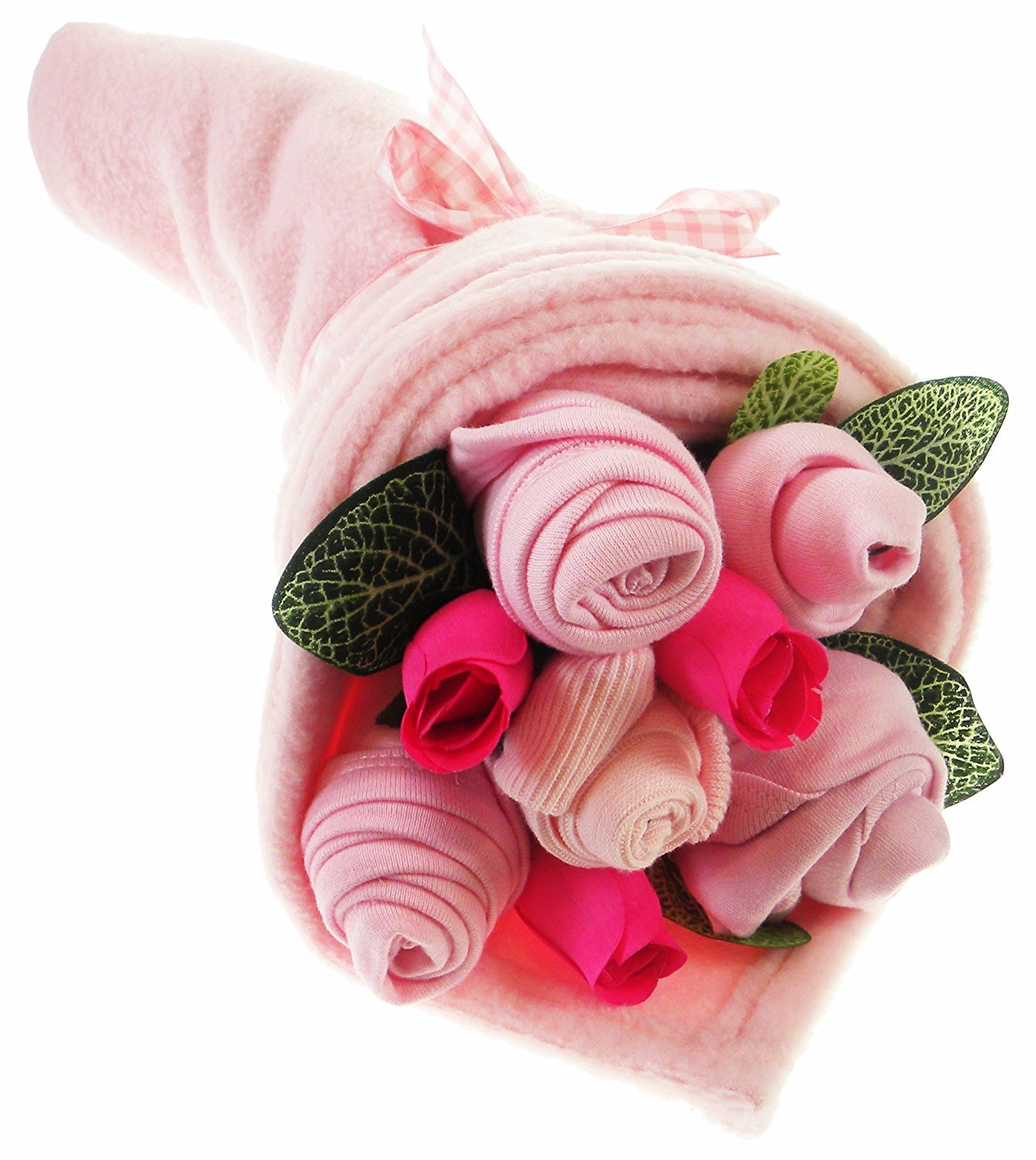 Say It Baby Traditional Baby Pinks Clothes Bouquet Gift Set TRADGBQT