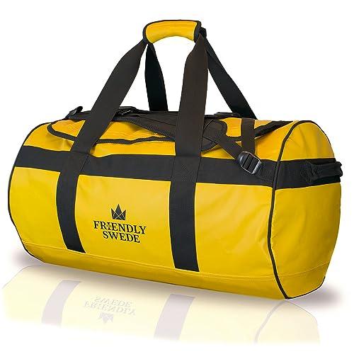 北欧発「TheFriendlySwede」ダッフルバッグボストンバッグ大容量バッグ耐水バッグ3wayバッグスポーツバッグトラベルバッグアウトドアバッグ90L/60L